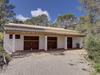 Villa 10 people Puigpunyent, Barbecue. Private pool. Clear views -00063. - Free