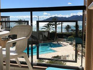 Cannes vue mer Palme d'Azur