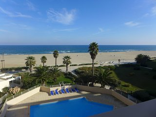 2 bedroom Apartment in Canet-Plage, Occitania, France : ref 5514943