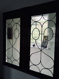 Feature window of the master bedroom