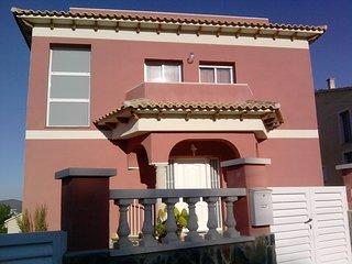 Villa Mirador II con piscina privada y playas a 3Km