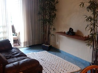 Furnished two bedroom apartment, studio, balcony