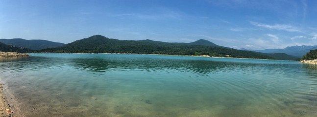 Lake at Darnius, Spain