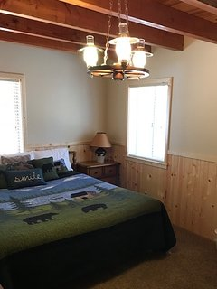 Newly remodeled master bedroom