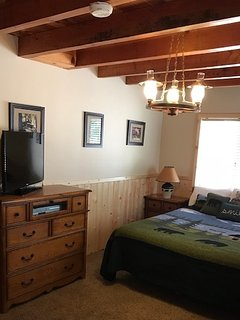 Newly remodeled master bedroom view two