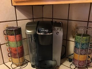 Pack your Keurig Cups/Regular coffee pot available