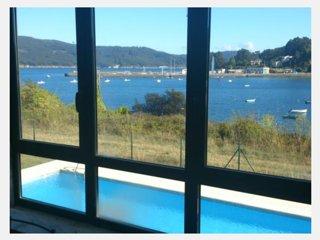 apartamento encima del mar con terraza y piscina