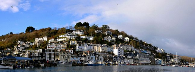 Looking out over West Looe.
