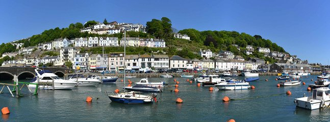 View of West Looe from East Looe.