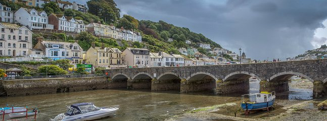 The bridge in Looe.