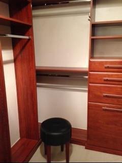 Master Custom built closet.