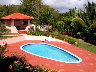 Holiday Rental with pool near Vieux Fort St. Lucia
