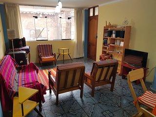 Apartamento tranquilo e iluminado