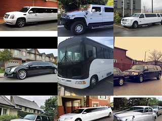 Stretch limousine for groups!