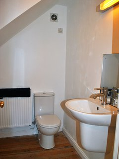 Additional WC with utility area