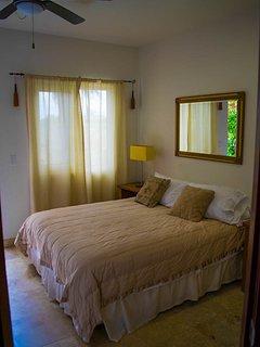 Queen Terrace suite, Main level. Day bed sleeps three.