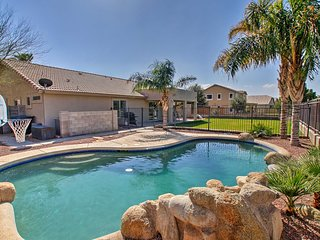 Spacious Gilbert Home w/ Private Pool & Backyard!