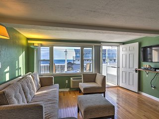 Dennis Port Condo w/ Ocean View - Steps to Beach!