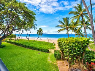 Best Kihei Location; Oceanfront with Stunning Views; Spacious 2BR on the Beach!