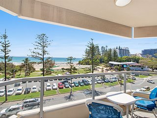 Kooringal unit 24 - Beachfront and centrally located between Tweed heads and Coo