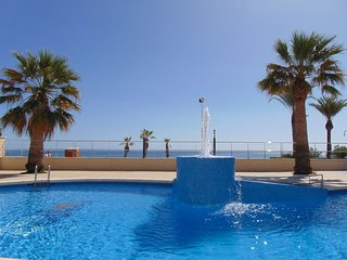 NUEVO MEXICO 9C - Beachfront apartment with pool and sea views in Calpe