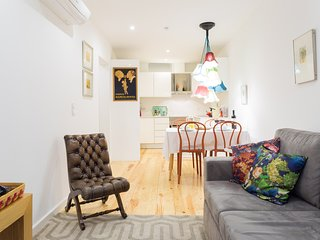 Stylish open space - lounge and kitchen | Air Conditioning (heat and cold) in all the rooms