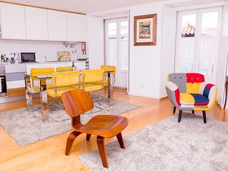 Stylish open space - lounge and kitchen