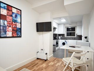 Flat 2, Brand new 1 bedroom flat with a private garden in Chelsea