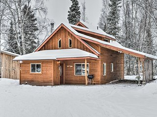 NEW! 2BR Kenai Cabin - 10 Mins to Spirit Lake!