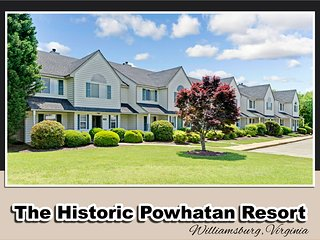 Huge 4 BDR townhouse on Powhatan Plantation, Sleeps 12. $269 up