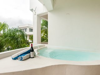 Nude Friendly Resort B202s- Private Jacuzzi Studio- Sexy Mexico Villas Tulum