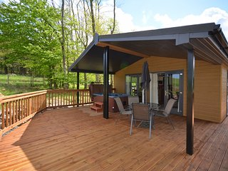 43844 Log Cabin situated in Hawick (1.5mls E)