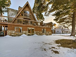 NEW! Waterfront South Lake Tahoe Home w/ Dock!