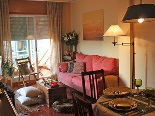Exclusivo apartamento en Sanxenxo con piscina a 100 m de la playa de Silgar, WIF