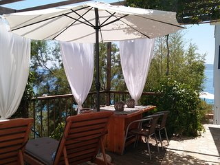 The Beach House Croatia Pisak. Right on the sea
