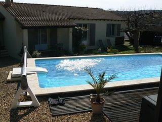 Maison 105 m² avec Piscine et terrain + cuisine d'été