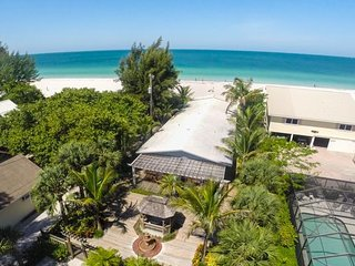 Gulf front tropical paradise that features 4 Fully Refurnished 1-BR units!