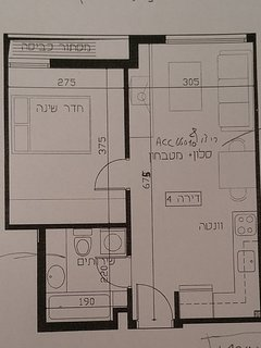 A layout drawing of my home