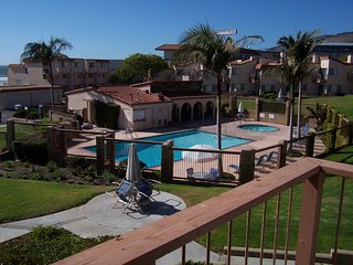 Pool View Condo in Gated Community w/ Deck & Fireplace