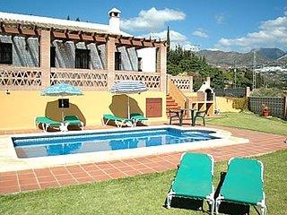 3 bedroom Villa in Frigiliana, Andalusia, Spain : ref 5455070