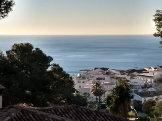 New Apartment in Benalmadena Pueblo sea view