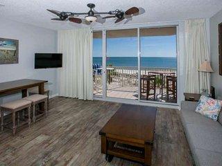 Gulf-Front 5th floor unit | Pool, hot tub, Wifi | Free golf, fishing, dolphin cr