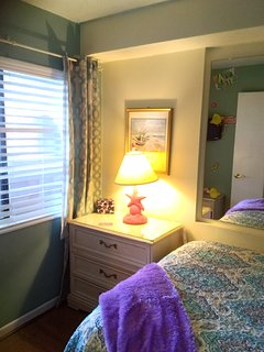 Cute 3rd bedroom . . .