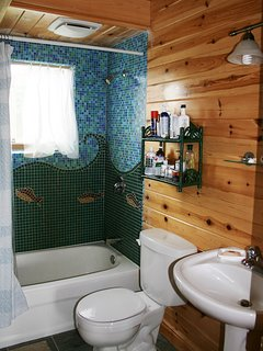 Bathroom at Ragged Island Retreat