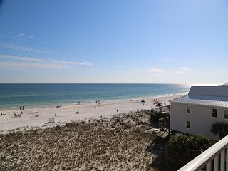 Gulf front views from your private balcony!