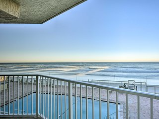 NEW! Oceanfront 2BR Daytona Beach Resort Condo!