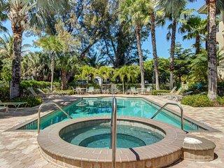 Elegant home w/ furnished balcony & shared pool - walk to the beach