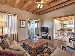 NEW! 1940's Renovated Adobe Home in Old Santa Fe!