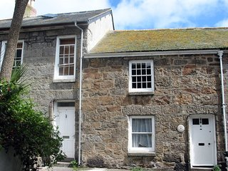 MURAL COTTAGE, Grade II listed fisherman's cottage in pretty harbour village. In