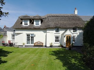 COOMBE COTTAGE, exquisite 18th century, picture postcard cottage. In St Keverne.